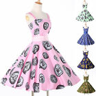 50's 60's Vintage Style Rockabilly Pinup WIGGLE Party Swing Prom Evening Dresses