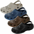 Mens Size 7 - 11 Garden CLOGS Beach Brown Black Blue Sandals NEW