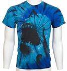 SHARK WEEK JAWS Men T-Shirt TIE DYE Beach Skate Surf Board S-XXL $30