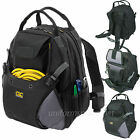 Custom LeatherCraft Backpack 48 Pocket Deluxe Tool Backpack CLC #1134 Black