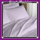1000 Thread Count 4-Piece Egyptian Cotton Sheet Set - Lavender Stripe