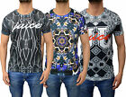 Mens Designer Juice Slim Fit Soft T-Shirt Tee Top T Crew Neck Subliminal Print