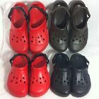 NEW Crocs Off Road Rubber Clogs - Red, Black, Chocolate - Men's & Women's