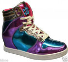CTTC CUTE TO THE CORE RETRO HI TOPS SNEAKERS TRAINERS BOOTS SHOES SIZE 3-8