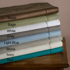 Ultra Soft 600 Thread Count Wrinkle Free Cotton Rich Pillow Case Sets (2 pieces)