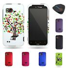 For HTC Rezound / Vigor 6425 - Multicolor Plastic Snap On Protector Phone Case