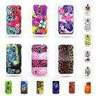 For ZTE Source / Majesty Multicolor Hard Plastic Snap On Design Phone Cover Case