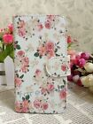 Sweet Rose Love Fresh Floral Flower Flip Pouch Case Cove for Apple Samsung phone