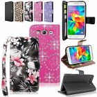 For Samsung Galaxy Grand Prime G530H Wallet Pu Leather Flip ID Card Pocket Case