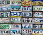 NEW HAMPSHIRE to WYOMING  PickYourState AMERICAN LICENSE PLATE York Texas Utah