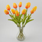 35cm Real Touch PU Tulip Artificial Flower Bouquet Home Floral Decoration 1 6 12