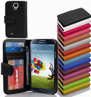 PU Leather Smart Phone Protection Cover Case Book Style Wallet Etui & Card Slot