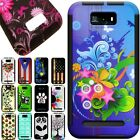 Slim Protective Hybrid Phone Case with Screen Cover for BLU Studio 5.5 D610A
