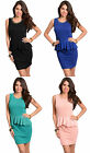 Women sexy fashion sleeveless casual party cocktail evening clubwear dress s/m/l