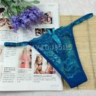 Womens Sexy Thongs G-string T-back Panties Knickers Lingerie Underwear 5501 J