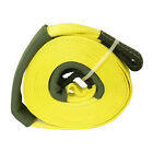 Sportsman 25000 Lb Yellow Vehicle Road Recovery Snatch Strap Auto Towing Tow