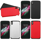 For Alcatel OneTouch Idol 3 5.5 Two Tone Slim Armor Hybrid Hard Cover Case