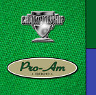 Championship Pro-Am Pool Table Billiards Cloth Felt Choose Size and Color