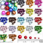 10/20/40/80/120pcs Acryl Perlen Spacer Miracle Illusion Schmuck 4/6/8/10/12mm