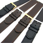 Super long XXL Genuine Leather Watch Strap Band Choice of sizes Black or Brown