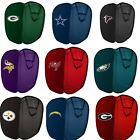NFL Sports Pop-Up Hamper Football Logo Storage Basket Laundry Bin Boys And Girls $14.99 USD on eBay