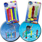 INTEX UNDERWATER SWIMMING POOL DIVE WEIGHTED PLAY STICKS BALLS WATER TOYS GAMES