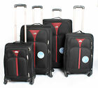 Super Lightweight Expandable 4 Wheel Suitcase Trolley Cases Bag Luggage SMLXL