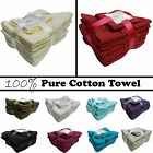Luxury 10 Piece Towel Bale Set, 100% Pure Cotton Towels Face , Hand & Bath Towel