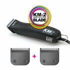 WAHL KM-2 Pet Clipper + EXTRA BLADE - Dog/Animal 2 Speed KM2 & BLADE SIZE CHOICE