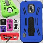 Heavy Duty Protective Hybrid Phone Cover Case for Samsung Galaxy S5 Active