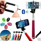 Selfie Stick Handheld Telescopic Monopod With Bluetooth Remote Button All Mobile