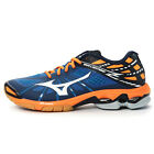 MIZUNO Men's WAVE LIGHTNING Z Indoors Volleyball Shoes V1GA150022 BLUE