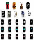 STAR WARS DARTH VADER R2D2 HANS SOLO CASE FOR iPHONE 4 5 5C 6 iPOD 4th 5th FP