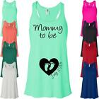 Mommy to Be Flowy Tank Top. Proud Mommy Womens Tank Top. New Mom Tank. L120