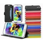 Ultra Slim Book Style PU Leather Smartphone Cover Case Wallet Stand Function