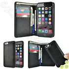 Slim Detachable Magnetic Luxury Leather Wallet Case Cover For Apple iPhone 6