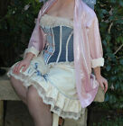 Ivory Lace Culotte Drawers Panties Divided Petticoat Victorian Flounced Knickers