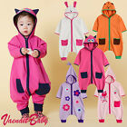 "Vaenait Baby Walker Clothes Kids Toddler Sleepsack Cotton ""Hoodie Animals"" 1T-5T"