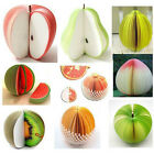 HotGift For Children Creative novelty fruit notes paper influx of people must