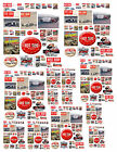 1:18 1:24 50S MAGAZINE COVERS HOT ROD DECALS FOR DIECAST & OTHER DIORAMAS