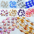 Free Shipping Top Quality Czech Crystal Faceted Drop Loose Beads 10x14mm SBA027