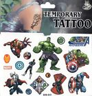 MARVEL HEROES DISNEY Temporary Tattoos Brand New and Fully Sealed (A)