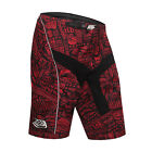 Troy Lee Designs TLD Down Hill MTB Mountain Bike Shorts Camo Dark Red