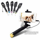 Wired Foldable Monopod Selfie Stick For Andriod Phone iOS iPhone 5 5S 6 6 Plus