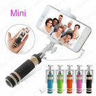 Wired Monopod Selfie Stick For Samsung Galaxy S6 edge S5 Mini Note 4 3 LG G4 G3