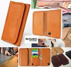Custom Made Brussardo Ambitious Beige Real Leather Case Wallet Samsung Galaxy S6