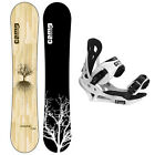 New 2016 Camp Seven Roots RCR Men's Snowboard + Summit Bindings Package
