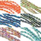 70 pcs 4x8mm Oblong Faceted Cone Artemis Glass Crystal Beads Jewellery Making