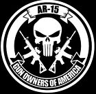 AR 15 2a Gun Decal Sticker Jeep Muddin Truck Dirty 4x4 Sig Funny Gun AR M&P