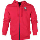 Fox Racing Tracker Mens Hoody Zip - Red All Sizes